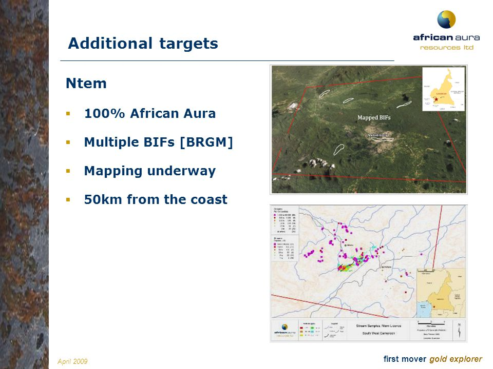 Additional targets Ntem 100% African Aura Multiple BIFs [BRGM]
